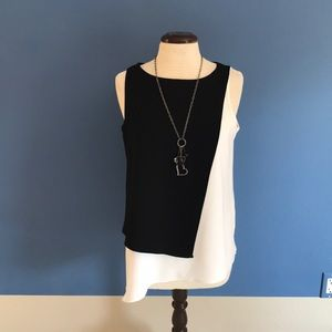 Fifteen Twenty black & White Top